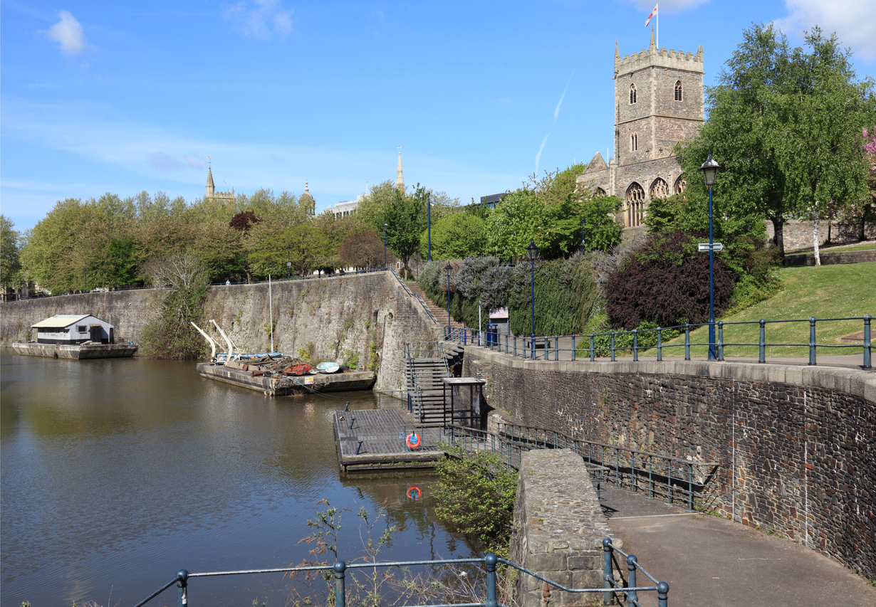 Ruined Church and Avon River